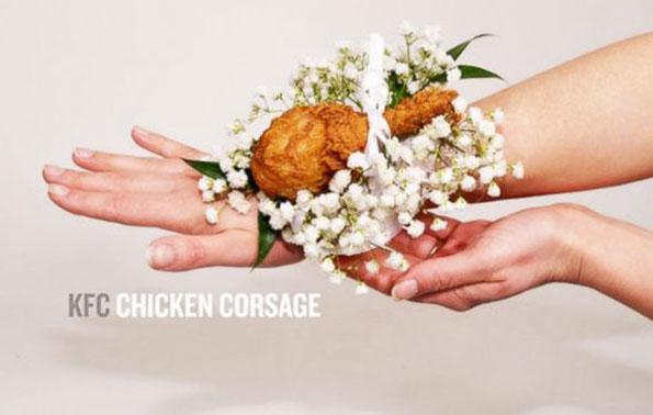 The KFC Chicken Corsage Is Classy, Elegant