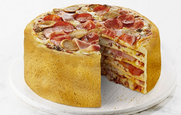 Drool-Worthy Multi-Layered Pizza Cake