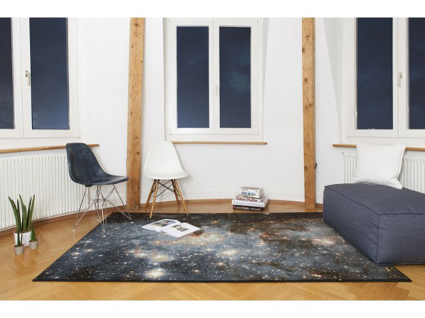 These Space Nebula Rugs Are Outta This World Incredible