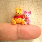 Tiny Crotcheted Animals
