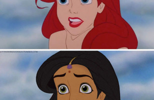 Disney Princesses As Other Races & More Incredible Links