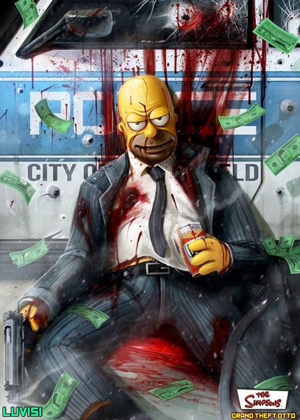 Nightmare Inducing: Cartoon Characters As Crazy Killers