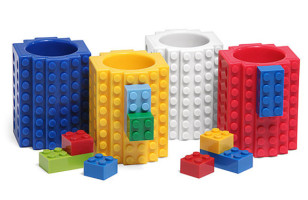 Drink & Play With LEGO Shot Glasses