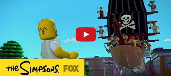 The Simpsons Do A LEGO Episode