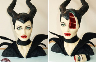 Hyperrealistic Cake Looks Like Disney's Maleficent