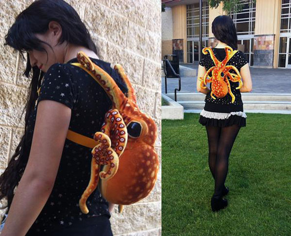 With 8 Legs, Octopus Backpack Carries All The Things