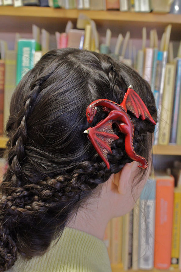 Fantastic Amp Whimsical Dragon Hair Clips Incredible Things