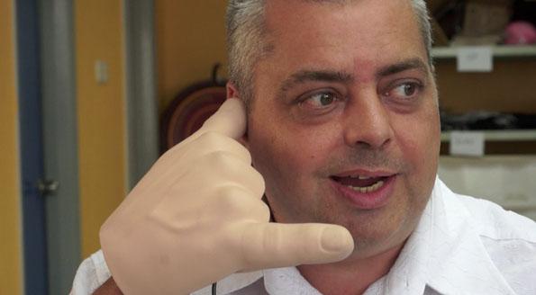 Handiheadset, A Headset That Looks Like A Hand