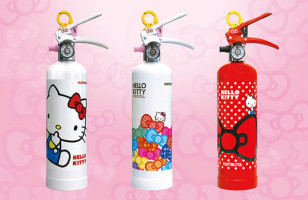 The Hello Kitty Fire Extinguisher Is The Cutest Fire Extinguisher