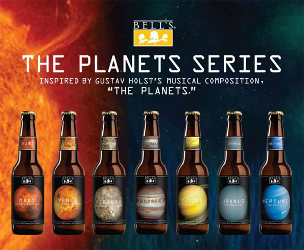 These Space Beers Are Inspired By Planets In Our Solar System