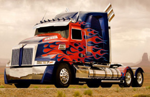 Ride-Sharing Service Uber Is Offering Rides From Optimus Prime