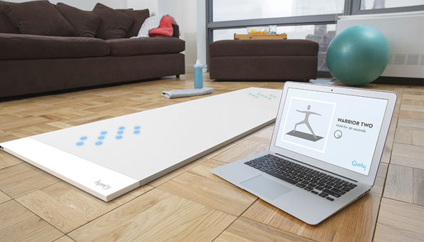 This Yoga Mat Indicates If You're Doing It Wrong
