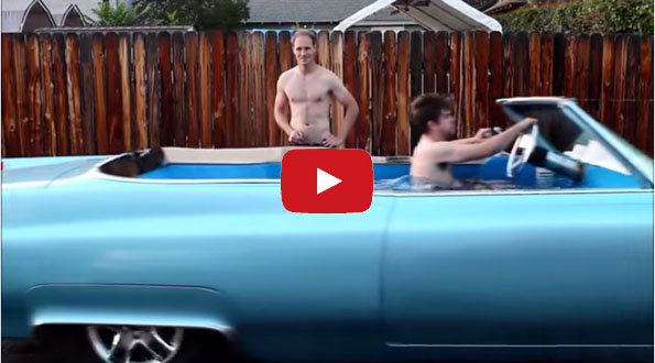 The World's Fastest Hot Tub Is In A 1969 Cadillac