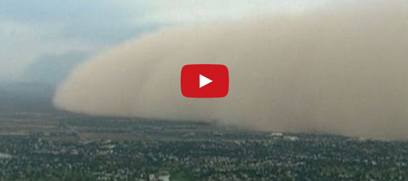 Watch As This Giant Storm Sweeps Over An Entire City