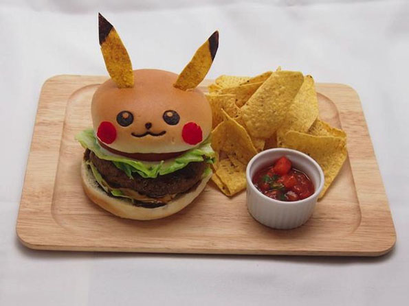 The Pikachu Burger & More Incredible Links