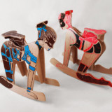 These BDSM Naked Lady Rocking Horses Are NSFL