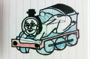 Thomas The [Human] Tank Engine Is Pretty Disturbing