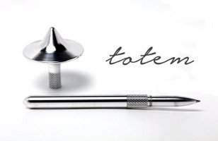 The Totem Pen Is 50% Pen, 50% Top, 100% Cool