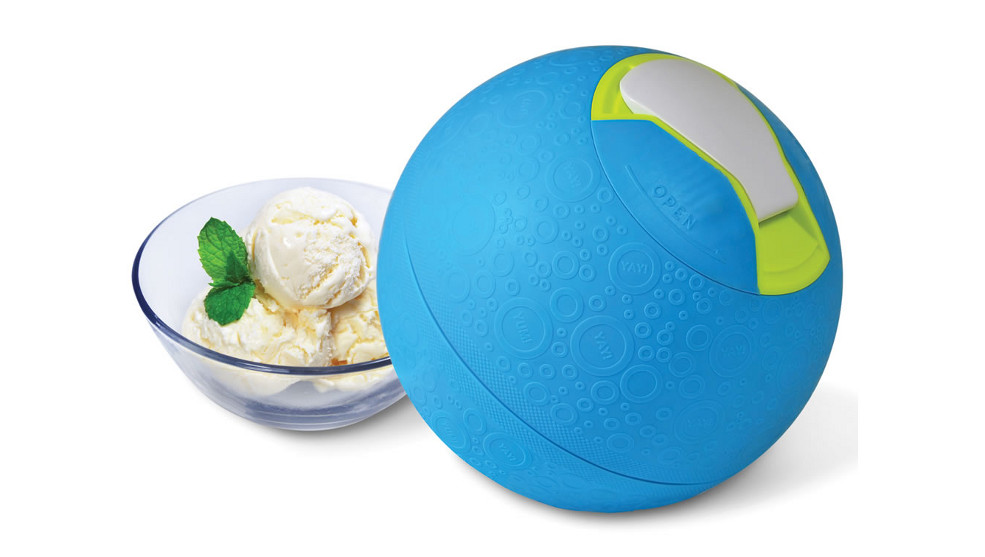 Play & Treat Yo Self With A Kickball Ice Cream Maker