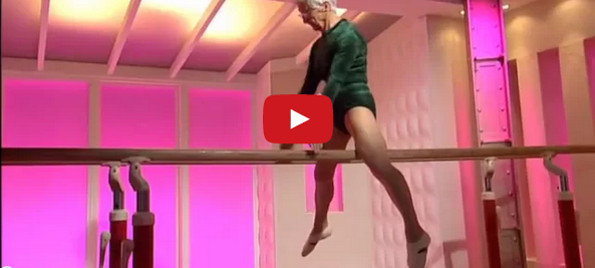 The World S Oldest Gymnast Is An 87 Year Old Gramma