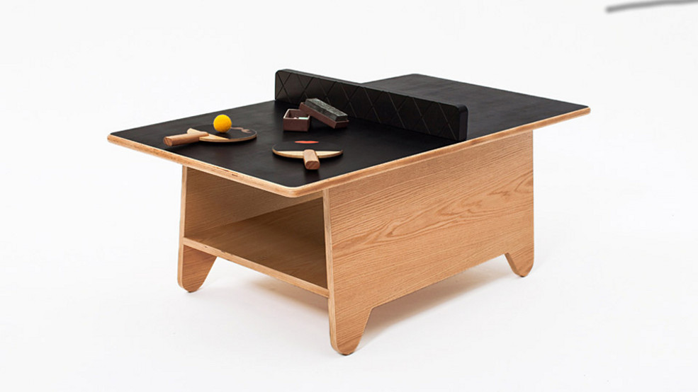 Ping pong coffee table could be fun could end badly for Incredible weird coffee tables