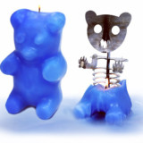 Gummi Bear Skeleton Candles
