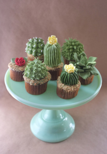 These Cactus Cupcakes Look Painful, Are Delicious