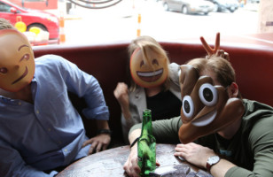 Emoji Masks Make The Easiest Halloween Costume There Is*