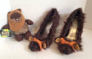 Ewok Heels Are The Shoes You're Looking For