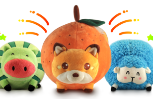 Fruitimals Are Cute, Fruit-Themed Stuffed Animals