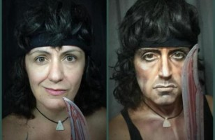 Makeup Artist Transforms Herself Into Male Characters