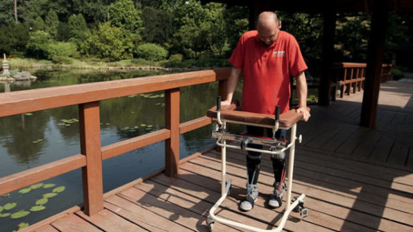 A Paralyzed Man Walks Again Thanks To Science