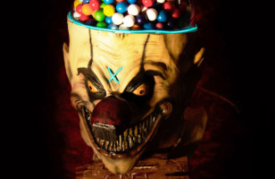 BRB Never Eating Candy Again: Clown Head Gumball Machine