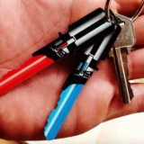 Lightsaber Shaped Keys