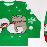 Matching Human & Dog Christmas Sweaters