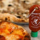Sriracha Key Chain