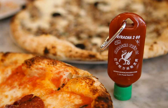 Never Be Without Hot Sauce With This Sriracha Keychain