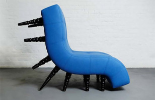 The Milli Chair Has Lots Of Extra Legs But Still Only Seats One
