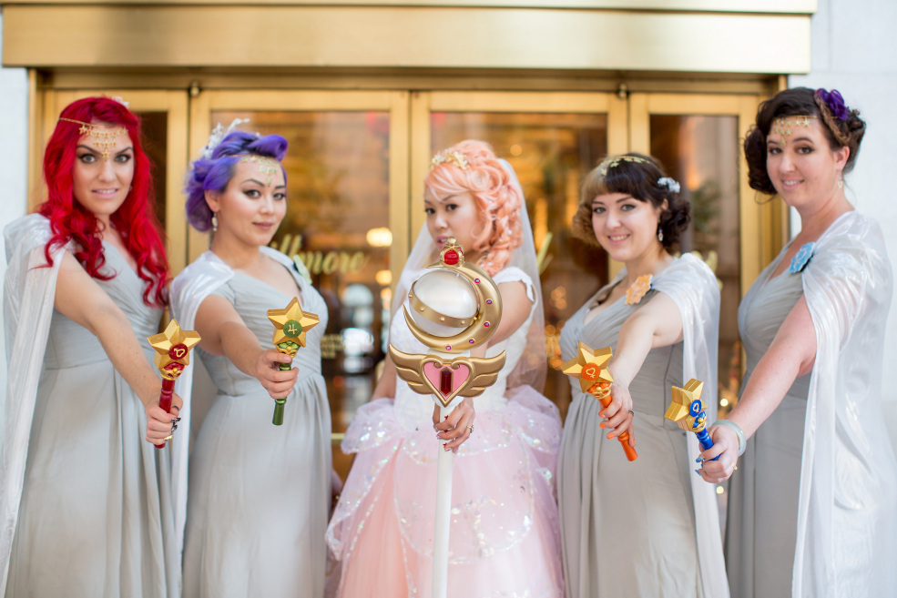 The Art Deco Sailor Moon Wedding You Always Dreamed Of