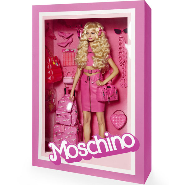 Vogue Paris Has Fashion Models Posing In A Box Like Barbie
