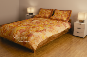 This Hawaiian Pizza Bedding Is A Little Slice Of Heaven