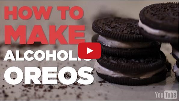 How To Make Alcoholic Oreo Cookies