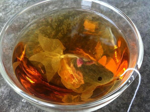 Fish Tea Bags Are Tea Bags That Look Just Like Goldfish