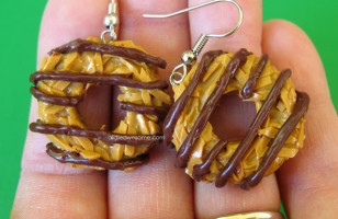 Girl Scout Cookie Earrings Look Good Enough To Eat