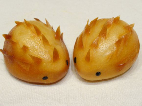 These Sweet & Spiky Hedgehog Dumplings Are Adorable