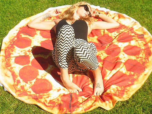 The Pizza Towel Is The Best Kind Of Towel There Ever Was
