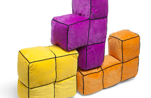 Now You Can Play Tetris While Relaxing On Tetris Cushions
