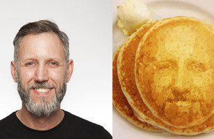 Now You Can Eat Your Selfie AKA Your Face On A Pancake