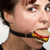 Cheeseburger Ball Gag