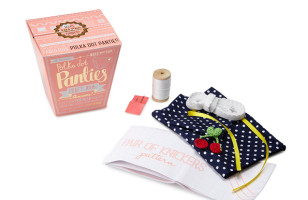 The Make Your Own Panties Kit, For Crafty Lingerie Enthusiasts